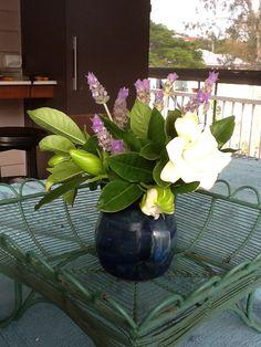 Gardenias and Lavendar