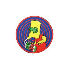 The Simpsons Patch Embroidered Cartoon Iron on Sew on Patches | eBay