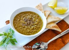 MENA Cooking Club: Lentil Soup - My Persian Kitchen