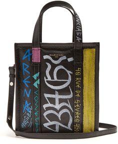 c3d9ee205f Balenciaga Bazar shopper XS Graffiti Balenciaga Tote