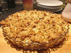 Apple Crumble 58 Apple Pie, Desserts, Food, Blackberries, Souffle Dish, Food Portions, Bakken, Tailgate Desserts, Deserts
