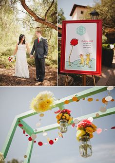 Oh The Places You'll Go - Dr. Seuss Wedding Theme! So Cool!!