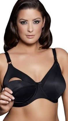 6f4f22337f Elomi Smoothing Black Nursing Plus Size Bra. Get immaculate discounts up to  Off at Blush Bras and Lingerie with Coupons.