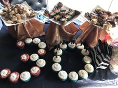 30th birthday dessert table T Vedra themed