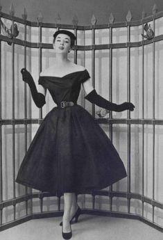 L'officiel-de-la-mode---Christian-Dior-Dinner-dress
