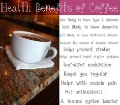 Wake up to a cup of coffee!