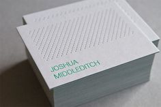 30+ Unique And Creative Business Card Designs   Design Inspiration. Free Resources & Tutorials