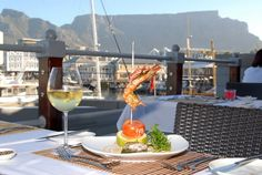 Karibu Restaurant ~ South African Dining ~ Cape Town RSA ~ V&a Waterfront, Restaurant, Build Your Brand, Cape Town, White Wine, Alcoholic Drinks, Menu, Table Decorations, Dining