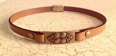 Antiqued Brass Focal Day Collar by SubmissiveOfferings on Etsy