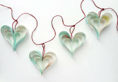 Pale Mint Blue Home Decorations for Easter, Easter Crafts, Easter Garland #2014 #easter #crafts www.loveitsomuch.com