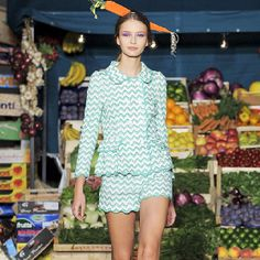 I wonder if some actually find this trendy? MOSCHINO CHEAP & CHIC - spring 2012