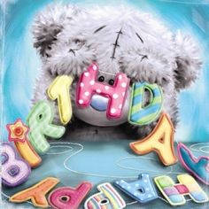 Birthday happy wishes tatty teddy 20 Best ideas 3d Birthday Card, Birthday Clips, Bear Birthday, Birthday Messages, Tatty Teddy, Happy Birthday Images, Happy Birthday Wishes, Birthday Greetings, Birthday Wishes For Daughter