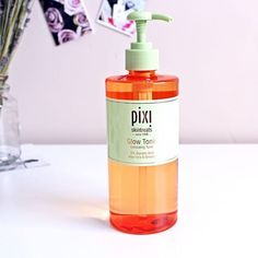 Giant limited edition Pixi Glow Tonic. From QVC.