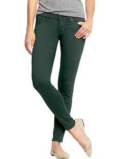 Womens The Rockstar Color-Wash Jeans