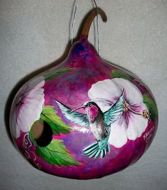 Made to Order  Gourd Birdhouse