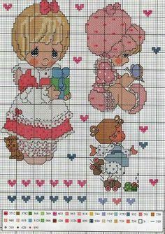 Cross Stitch Fabric, Cross Stitch Charts, Cross Stitching, Cross Stitch Embroidery, Cross Stitch Alphabet Patterns, Cross Stitch Designs, Precious Moments, Everything Cross Stitch, Cross Stitch Angels