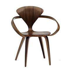 CASANOVA Møbler — Norman Cherner - Armchair - classic valnød