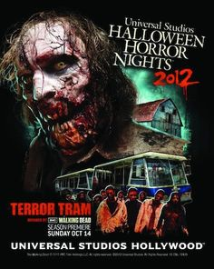 halloween horror night hollywood hours