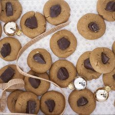 These delicious peanut butter cookies use chocolate chunks instead of Hershey's Kisses for a sophisticated take on classic thumbprint cookies: http://recipes.womenshealthmag.com/recipe/chocolate-chunk-peanut-butter-cookies.aspx?cm_mmc=Pinterest-_-womenshealth-_-content-food-_-chocolatechunkpeanutbuttercookies