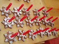 Výsledek obrázku pro perníčky Gingerbread Cookies, Triangle, Desserts, Food, Gingerbread Cupcakes, Ginger Cookies, Meal, Deserts, Essen