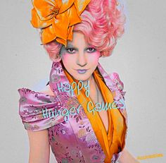 """Happy Hunger Games!"" - Effie Trinket"