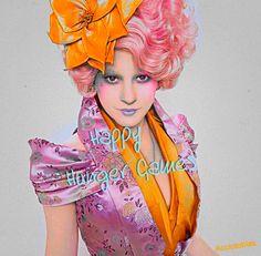 """Happy Hunger Games!"" - Effie Trinket"