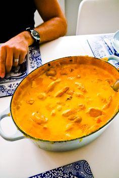 Currygryta med Kyckling - 56kilo.se - Inspiration, Livsstil & LCHF Recept Veggie Recipes, Healthy Dinner Recipes, Chicken Recipes, Lchf, Vegan Meal Prep, Swedish Recipes, Vegan Thanksgiving, Vegan Curry, Carne