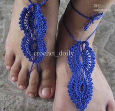 Wholesale Women Foot Thongs - Buy - Barefoot Sandals, Foot Jewelry, Beach Wear, Yoga, Foot Thongs, Bridal Bridesmaid Wedding Sandals Crochet Sandals Tmx280, $9.09 | DHgate