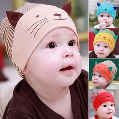 Winter Baby Hat Cute Photography Props Baby Boy Toodler Infant Striped Stripe Beanies Cotton Baby Cap Beanie Hat Y1