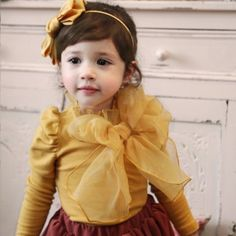 Rose Bonnie Yellow Top