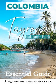 Essential Guide for visiting Tayrona National Park in the North of Colombia. Amazing Destinations, Travel Destinations, Travel Tips, Tayrona National Park, Colombia Travel, Sustainable Tourism, South America Travel, Most Beautiful Beaches, Plan Your Trip