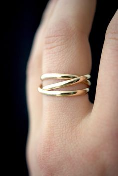 Details about  /Real 14kt White Gold 1.2mm Twisted Wire Pattern Stackable Band Size:10