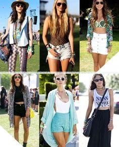 Coachella Street Style / Festival Fashion