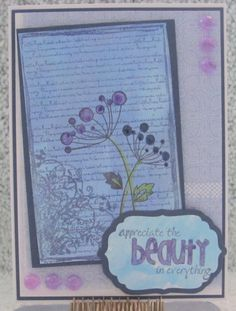I just listed Beauty In Everything A2 Greeting Card All occasion quote handmade on The CraftStar @TheCraftStar #uniquegifts