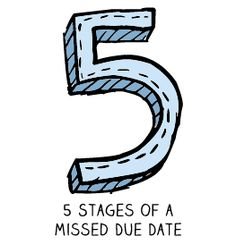 Miscarriage: 5 Stages of a Missed Due Date...oh how I needed this today.