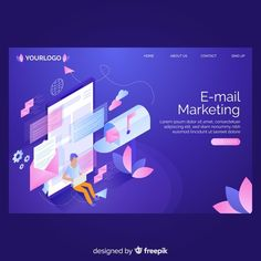Mail Marketing, Graphic Design Templates, Displaying Collections, Page Template, Vector Photo, Lorem Ipsum, My Works, Business Technology, Vector Free