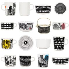 Marrimekko Cup Cup, Conversational Prints, Interior Architecture, Interior Design, Kitchenware, Tableware, Espresso Cups, Marimekko, Scandinavian Design