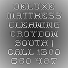 Deluxe Mattress Cleaning Croydon South | Call 1300 660 487