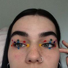 makeup for hoco Eye Makeup, Makeup Art, Beauty Makeup, Makeup Goals, Makeup Inspo, Makeup Inspiration, Art Visage, Maquillage Halloween, Aesthetic Makeup