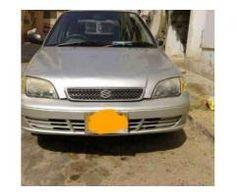 Suzuki Cultus VXR Silver Color Model 2003 New Tyre For Sale In Karachi