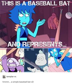 What's the thing with SU and baseball bats? :D
