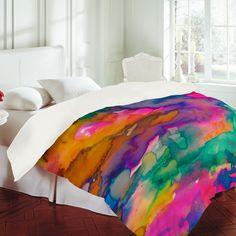 Amy Sia 'Ardour' Duvet Cover
