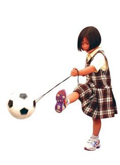 Tetherball by skool plus 3 80 these fun and uniquely spotted soccer