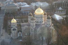 Riga - Kirche von oben