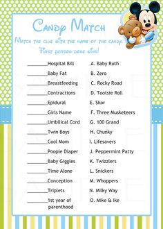 Baby shower games -disney babies mickey mouse baby shower inspired party theme wishes for baby card. celebrate your baby shower with this disney baby mickey Baby Shower Prizes, Boy Baby Shower Themes, Baby Boy Shower, Baby Theme, Baby Mickey Mouse, Disney Babys, Baby Disney, Disney Disney, Disney Ideas