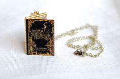 Sherlock Holmes Necklace  Sherlock Holmes Book by junkstudio, $19.00