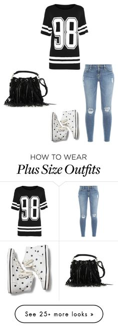 """""""Sem título #1766"""" by mik0112 on Polyvore featuring Frame Denim, Keds and Yves Saint Laurent"""