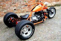 Mini Motorbike, Trike Motorcycle, Moto Bike, Motorized Big Wheel, Drift Trike Motorized, Custom Trikes, Custom Motorcycles, Three Wheel Motorcycles, Vw Trike