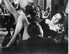 Susan Kohner (Imitation of Life) no bad girl moment was complete without fishnets