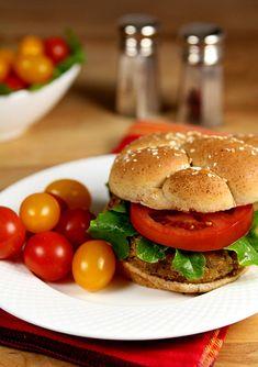 Tuna Dijon Burger from @creativculinary